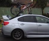 Subaru WRX STI Bike Rack – The Mini Bomber Solution