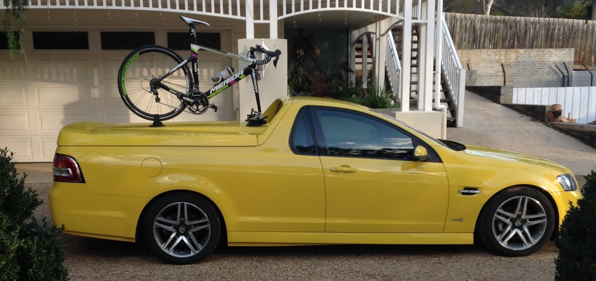 Holden Ute SV6 Bike Rack