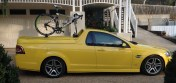 Holden Ute SV6 Bike Rack - The Mini Bomber Solution
