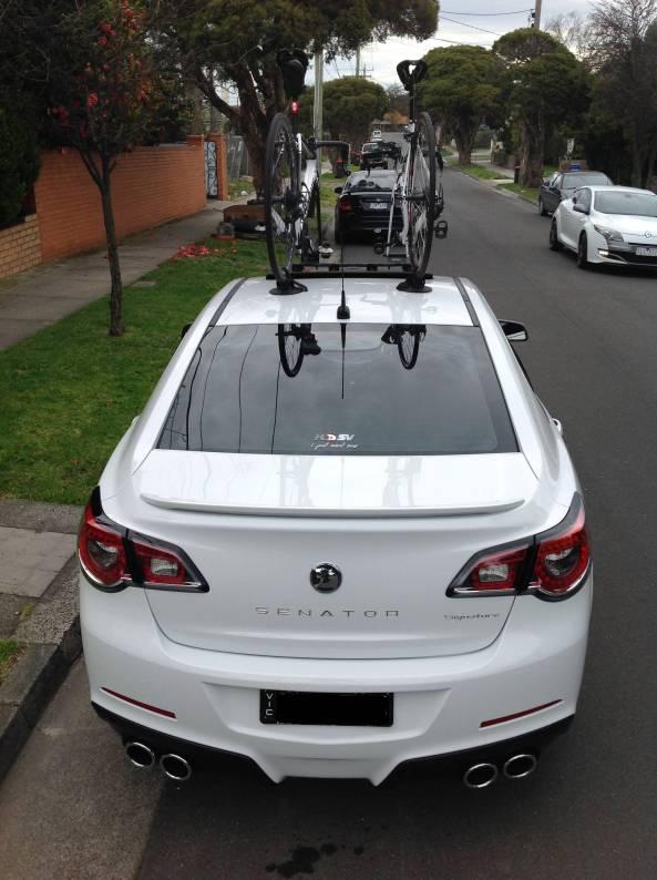 HSV Senator Bike Rack - The Mini Bomber Solution