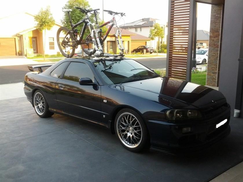 Nissan Skyline Bike Rack - Mini Bomber
