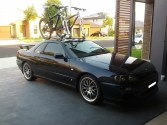 Nissan Skyline Bike Rack - Mini Bomber