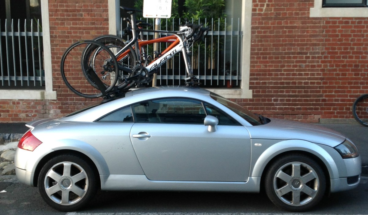 Audi TT Coupe Bike Rack - Part 3