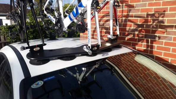 Ford Focus - The SeaSucker Bomber Bike Rack close up