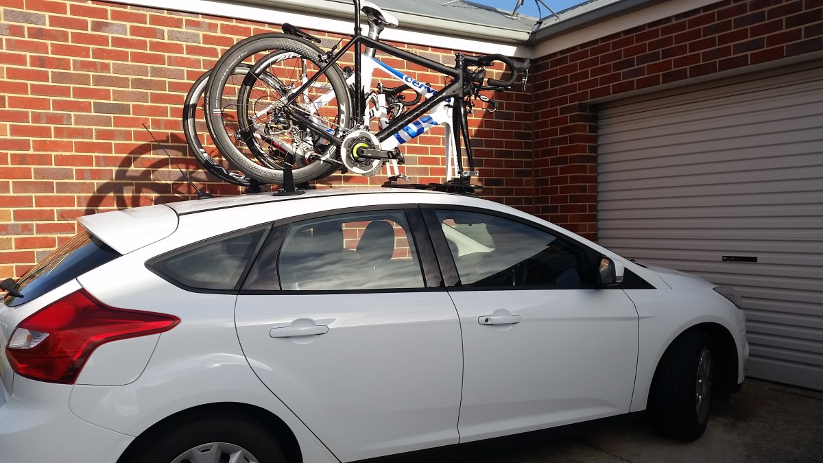Ford Focus Bike Rack