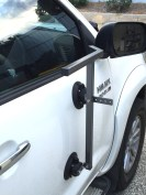 Vehicle Mounted Rifle Rest