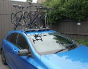 Mercedes A200 Bike Rack - SeaSucker Bomber