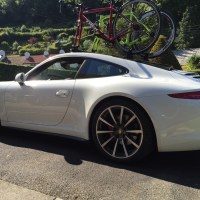 Porsche 911 Bike Rack Update