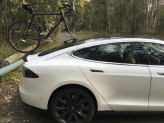 Tesla Model S Bike Rack SeaSucker Talon