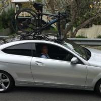 Mercedes Benz C250 Bike Rack