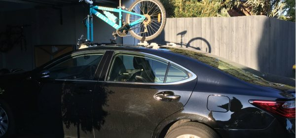 Lexus ES300h Bike Rack - The SeaSucker Bomber