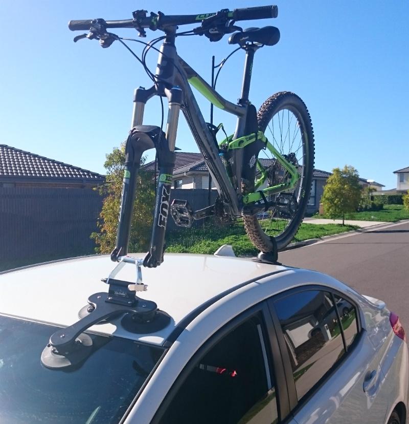 Subaru WRX STI and SeaSucker Talon Bike Rack
