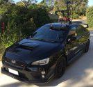 Subaru WRX STI with SeaSucker Mini Bomber