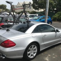 Mercedes SL500 Bike Rack