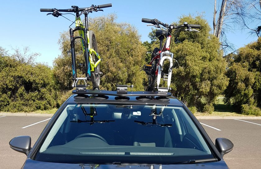 VW Golf Bike Rack - The SeaSucker Bomber
