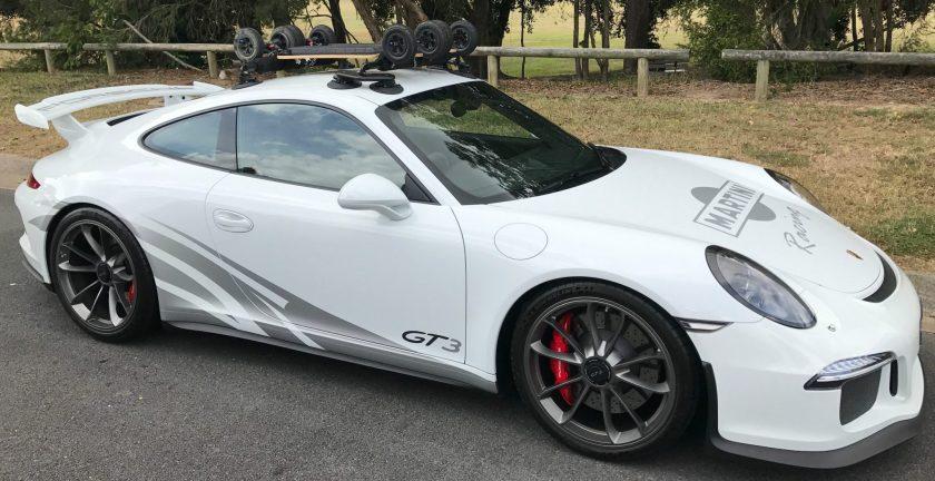 Porsche GT3 Roof Rack - The SeaSucker Paddle Board Rack