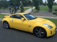 Nissan 350Z Bike Rack - The SeaSucker Talon