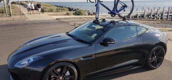 Jaguar F-Type Bike Rack - The SeaSucker Talon