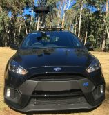 Ford Focus RS Bike Rack - the SeaSucker Mini Bomber