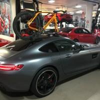 Mercedes AMG GTs Bike Rack