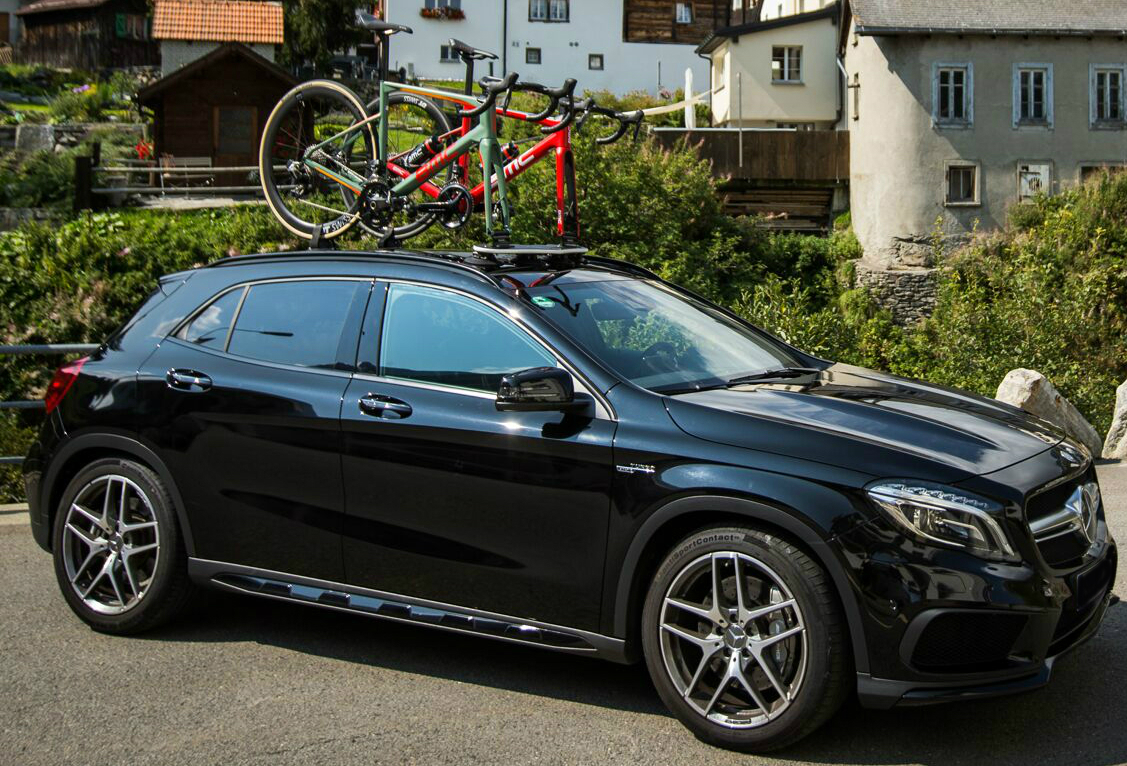 Mercedes GLA45 AMG Bike Rack