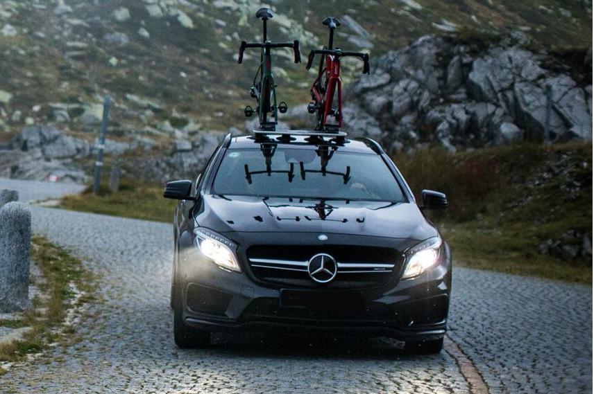 Mercedes AMG GLA45 Bike Rack - The SeaSucker Mini Bomber