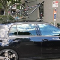 VW Golf R Bike Rack