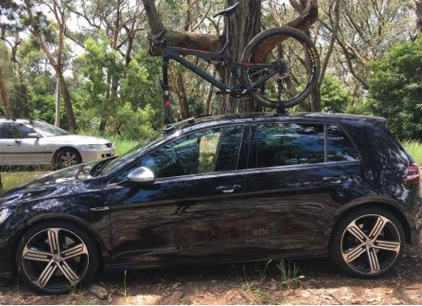 VW Golf Bike Rack 2- The SeaSucker Talon