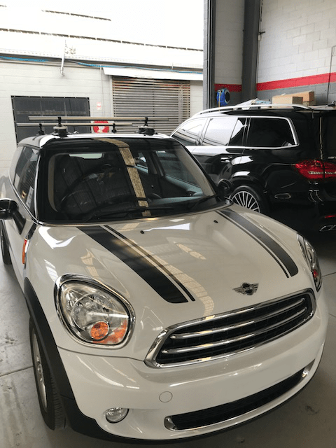 Mini Paceman Roof Rack