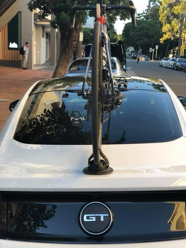 Ford Mustang Bike Rack - The SeaSucker Talon