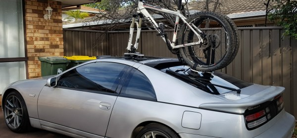 Nissan 300ZX Bike Rack - The SeaSucker Talon