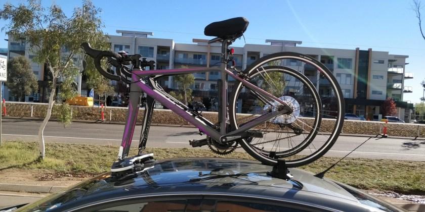 Holden VE Berlina Bike Rack - The SeaSucker Mini Bomber