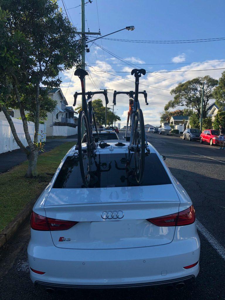 Audi S3 Bike Rack - The SeaSucker Mini Bomber