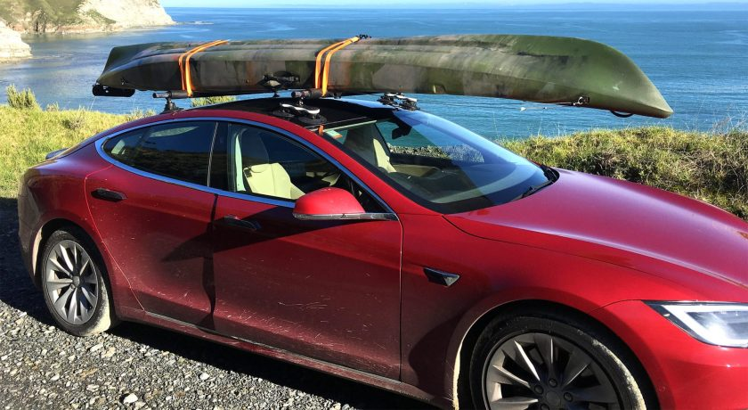 Tesla Model S Roof - The SeaSucker Monkey Bars
