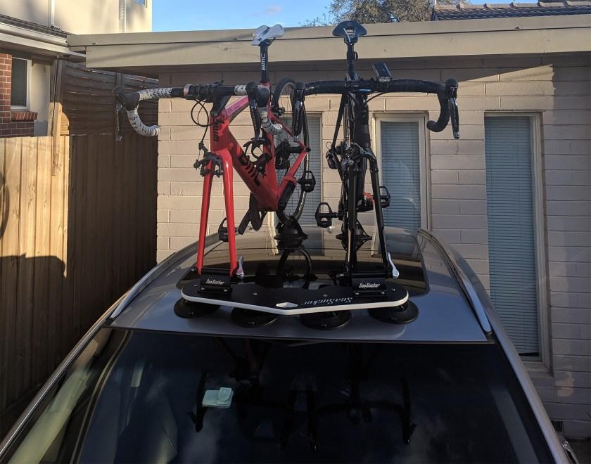 Honda HRV Bike Rack - The SeaSucker Mini Bomber