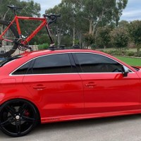 Audi S3 Bike Rack - 4 years of use