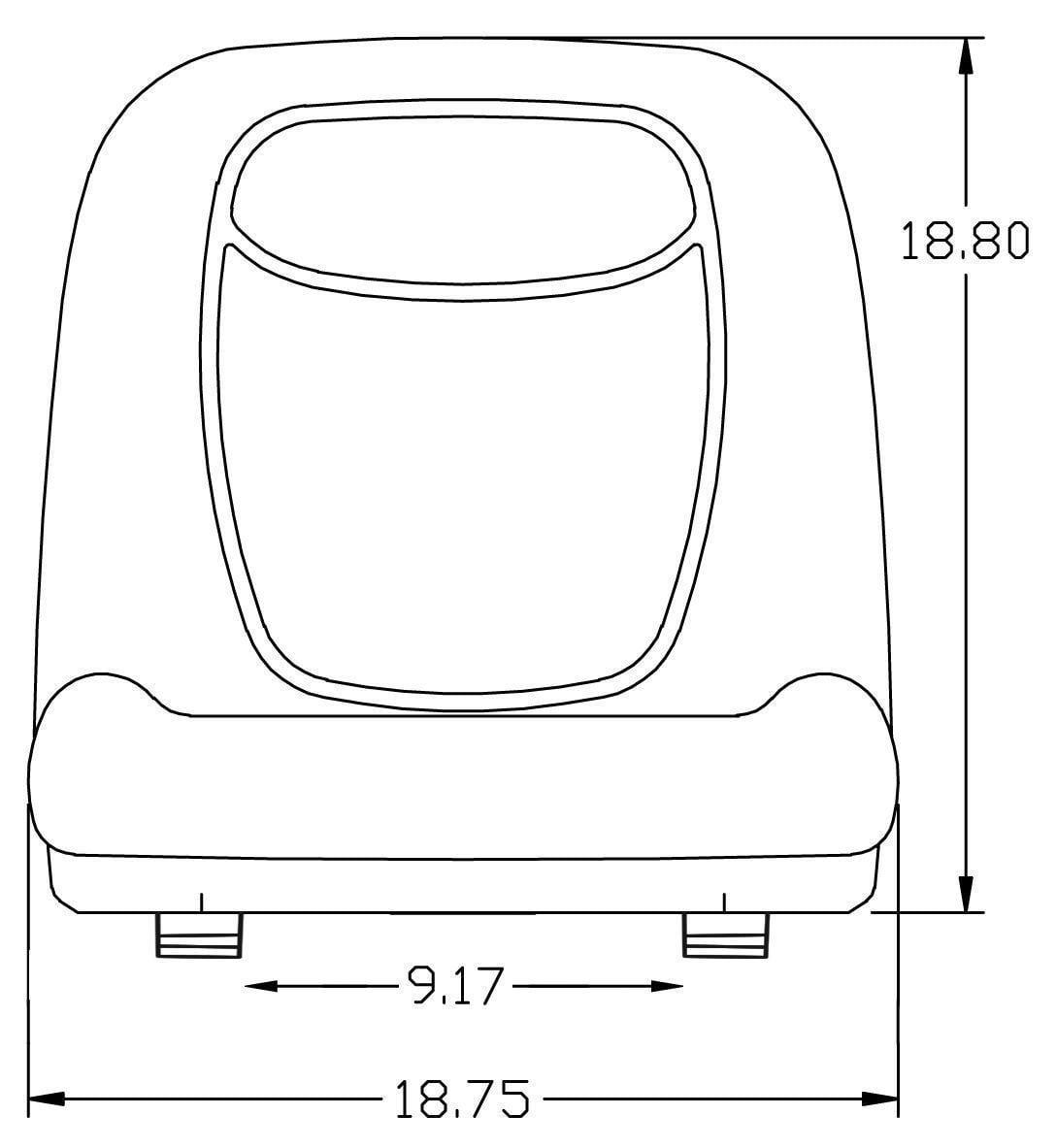 Seat For John Deere X300 X300r X310 X320 X330 X340