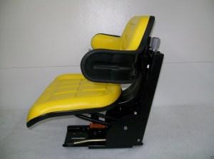 SUSPENSION SEAT JOHN DEERE TRACTOR YELLOW 1020, 1530, 2020, 2030, 2040, 2150 #IE  Seat Warehouse