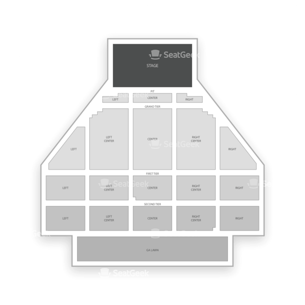Ballroom Town Buffalo Chart Seating