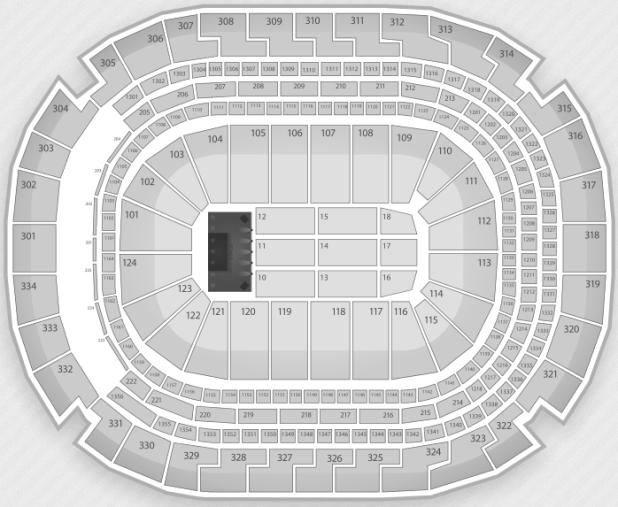 Justin Bieber Seating Chart Dallas American Airlines Center