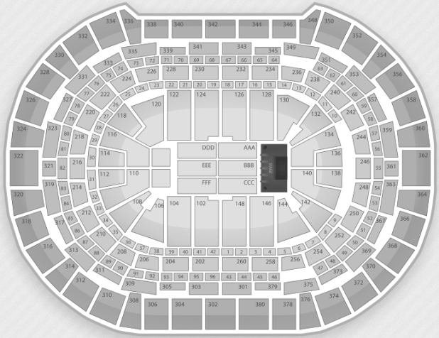 Justin Bieber Seating Chart Denver Pepsi Center