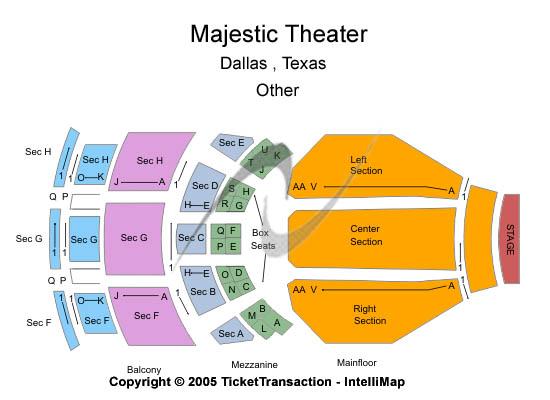 San Antonio Majestic Theater Seating Brokeasshome Com
