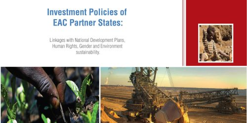 Investment Policies of EAC Partner States
