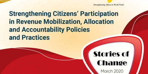 Stories of  Change Booklet - Strengthening Citizens Participation in Revenue Mobilisation, Allocation and Accountability Policies and Practices