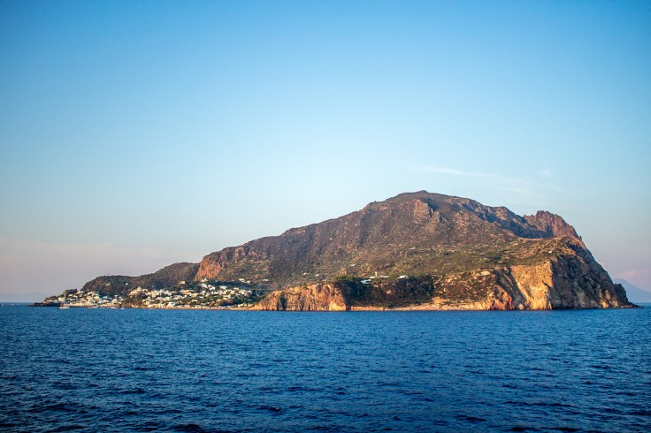 Panarea from the ferry