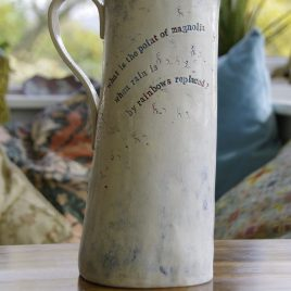 Poetry jug (what is the point of magnolia?)
