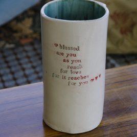 Medium poetry vase (blessed)
