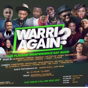 Warri Again? Independence Day Show