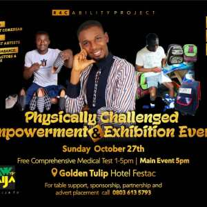 Physically Challenged Empowerment and Exhibition Event