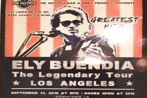 Ely Buendia, The Legendary Tour Live In Los Angeles, September 14, 2018